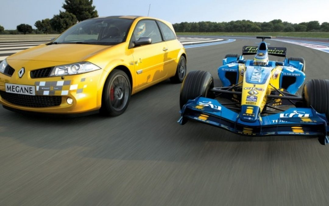 Top 5 race cars by Renault